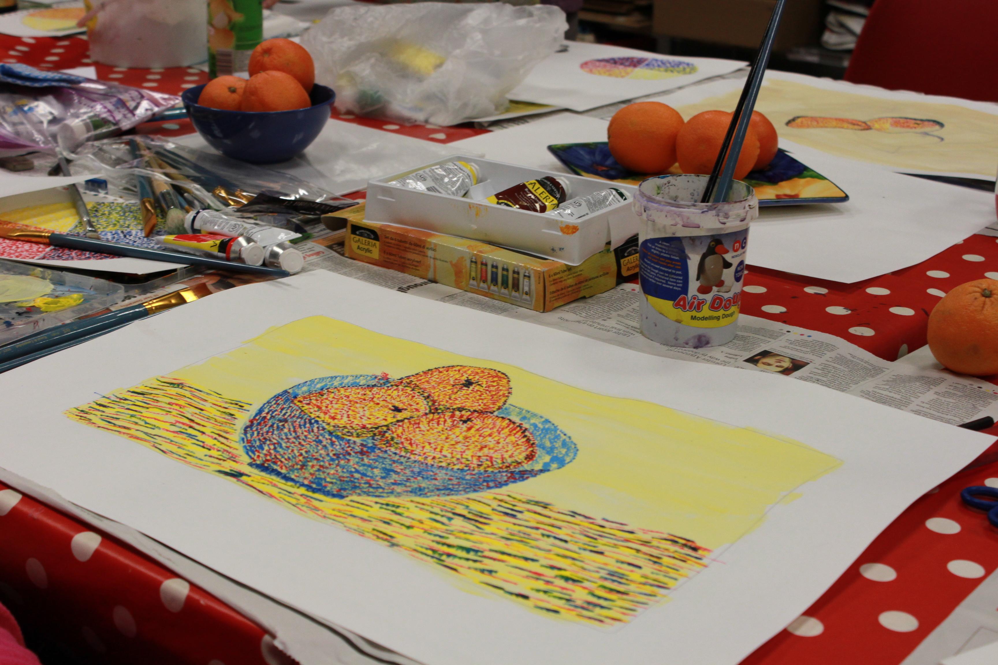 Artzone Adult Art Classes - Painting