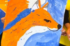 Artzone Junior September Fox Painting 5-7 y/o
