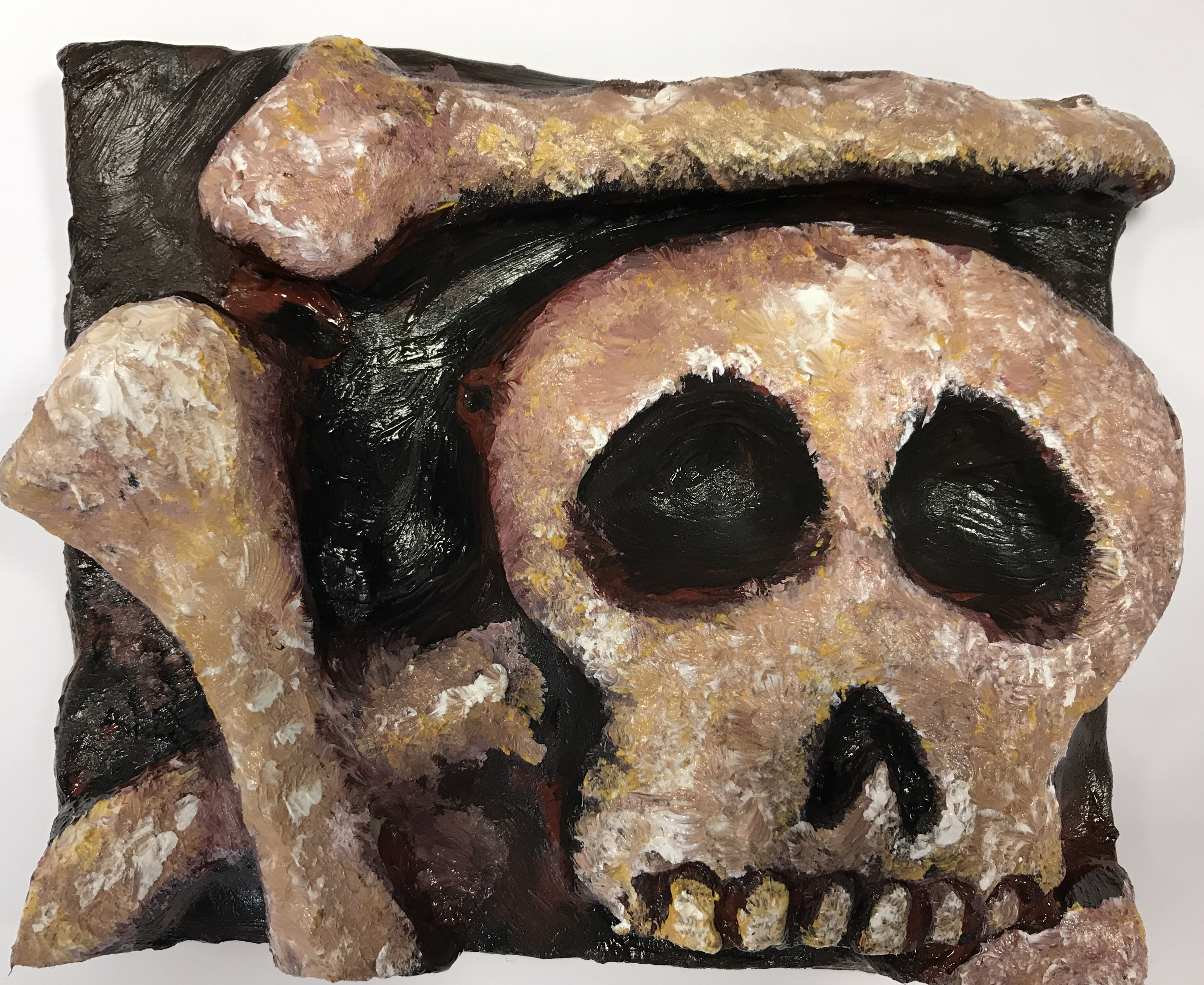 1710 Juniors Clay Skull