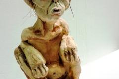 Teenage Painted Sculpture